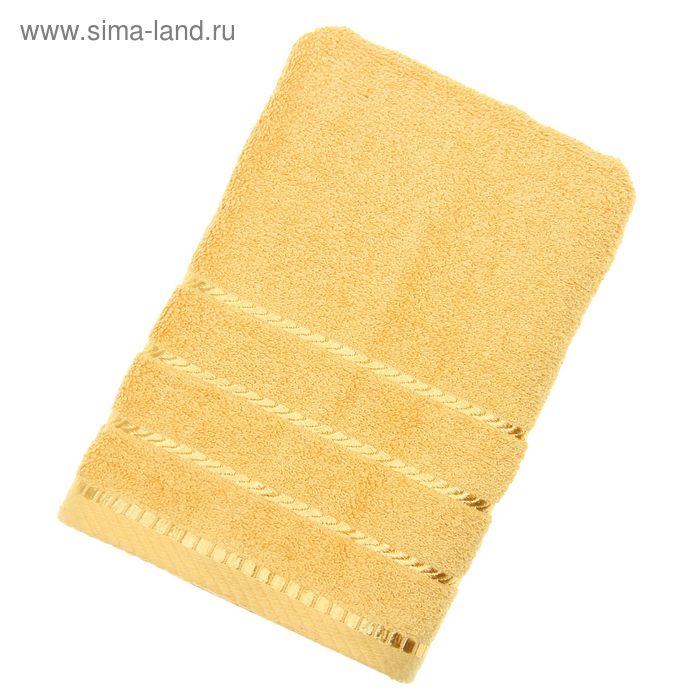Полотенце махровое BERLIN Uni, размер 50х100 см, 470 г/м2, цвет золотой