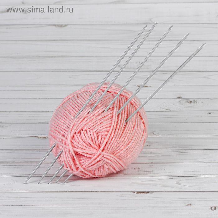 Спицы для вязания чулочные, d=3,5мм, 30см, 5шт