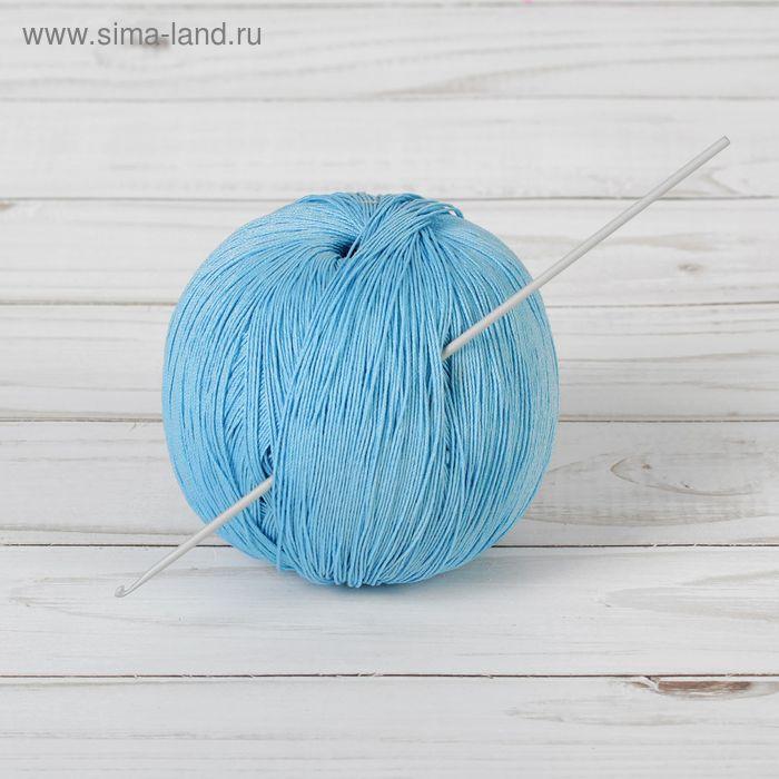 Крючок для вязания, 45201, алюминиевый, d=2мм, 15см