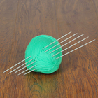 Спицы для вязания чулочные, 36212, d=2мм, 20см, 5шт