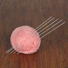 Спицы для вязания чулочные, 40212, d=2мм, 30см, 5шт