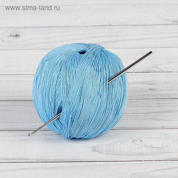 Крючок для вязания, 58227, стальной, d=1,75мм, 12см