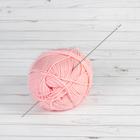 Крючок для вязания, 43201, тунисский алюминиевый, d=2мм, 30см