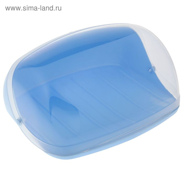 Хлебница большая IDEA, цвет голубой