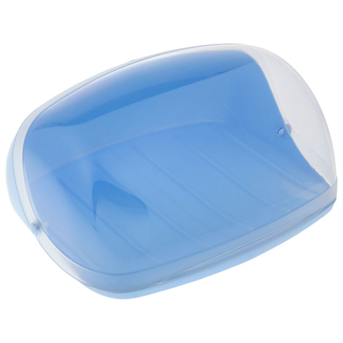 Хлебница IDEA малая, цвет голубой - фото 797702812