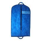 Чехол для одежды, с окном 120х60 см, цвет синий