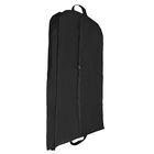 Чехол для одежды зимний 140×60×10 см, цвет чёрный