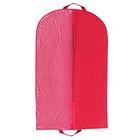 Чехол для одежды 100×60 см, полузакрытый, цвет бордовый