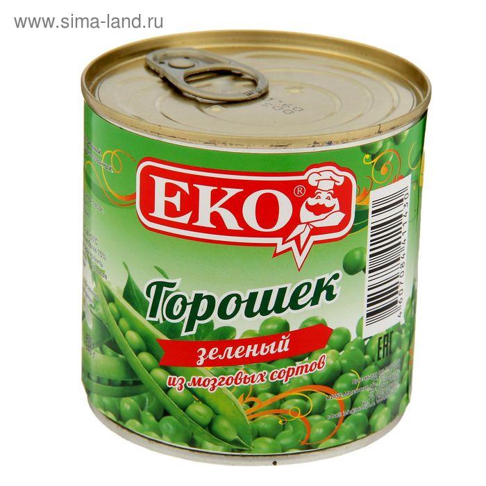 """Горошек зеленый """"ЕКО"""", жестяная банка с ключом, 400 г"""