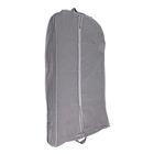 Чехол для одежды, зимний 100х60х10 см, цвет серый
