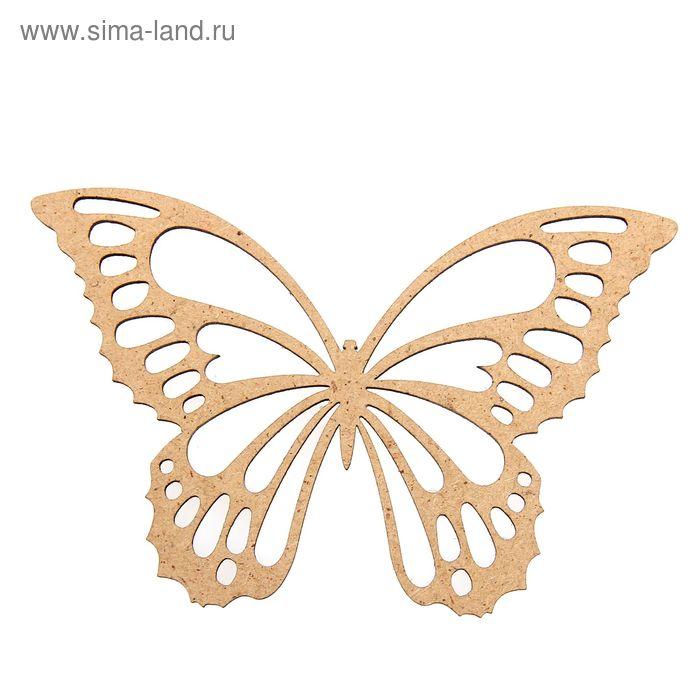"Бирка для декора ""Бабочка узорная"""