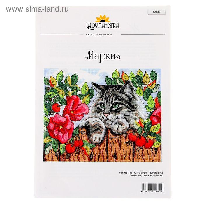 """Набор для вышивания """"Маркиз"""", 36х28 см"""