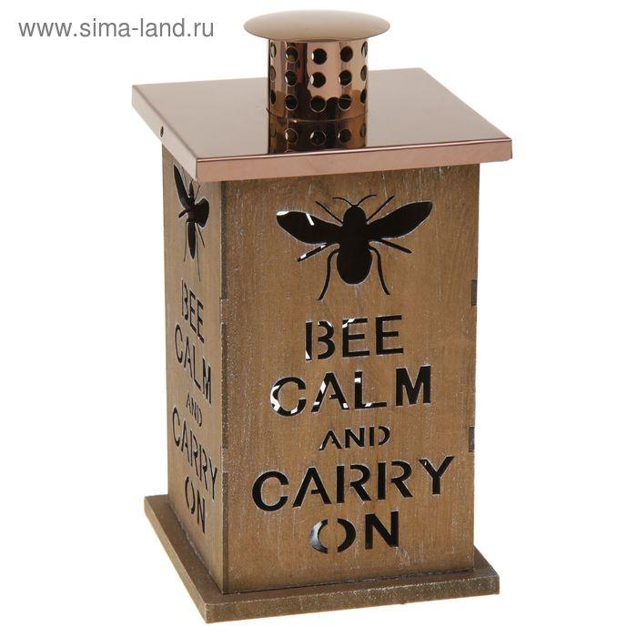 """Подсвечник уличный """"Bee calm"""""""