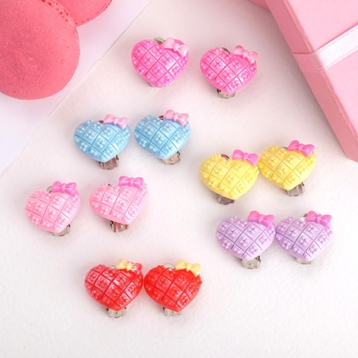 "Clips baby ""Vibracula"" heart with flower, MIX color"