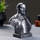 Бюст Ленин большой металлик 17 см