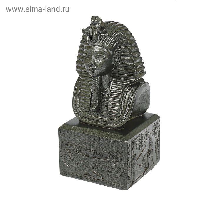 """Статуэтка """"Маска фараона"""" металлик"""