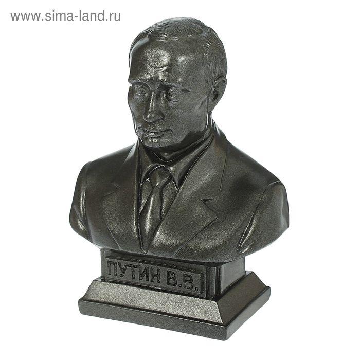 "Статуэтка ""Бюст Путина"" большая, металлик"