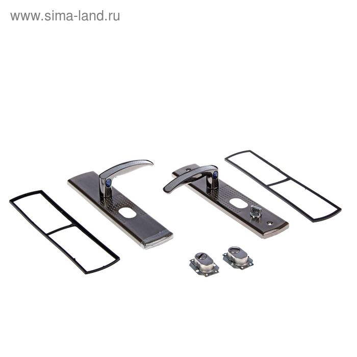 """Комплект ручек """"АЛЛЮР"""" РН-А222-1-R, универсальный, с подсветкой, правый"""