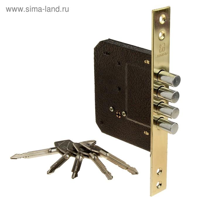 """Замок врезной """"АЛЛЮР"""" 189-4, под крестообразный ключ, без ручки"""