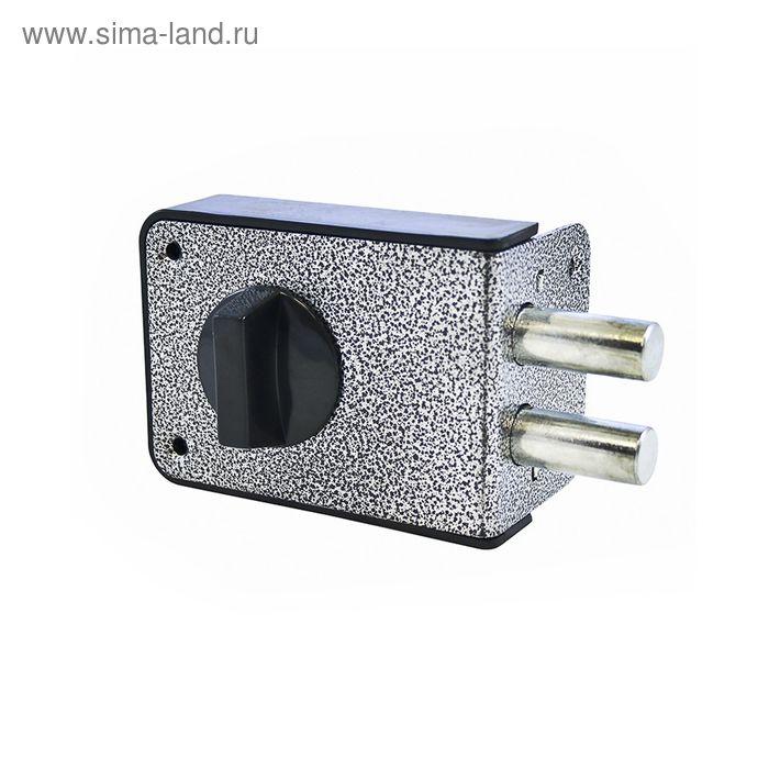 """Замок накладной """"АЛЛЮР"""" ЗН1-2А, 100х74х24 мм, 5 ключей, аналог ЗН1-1"""