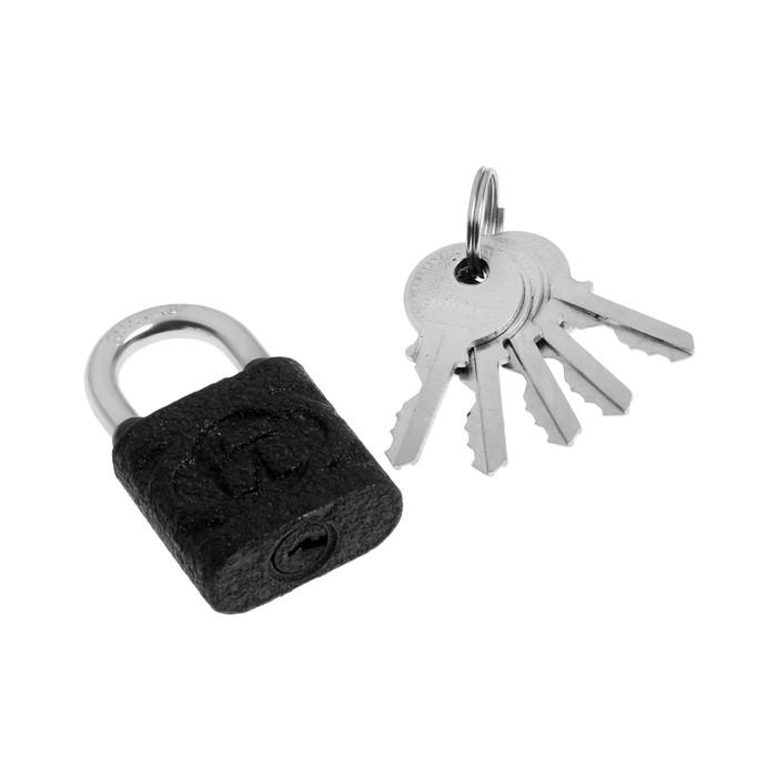 "Замок навесной ""АЛЛЮР"" ВС1Ч-4503, дужка d=5 мм, 5 ключей"