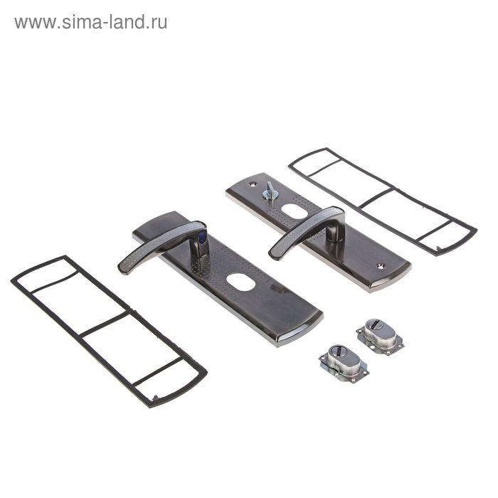 """Комплект ручек """"АЛЛЮР"""" РН-А222-1-Н70-L, универсальный, с подсветкой, левый"""