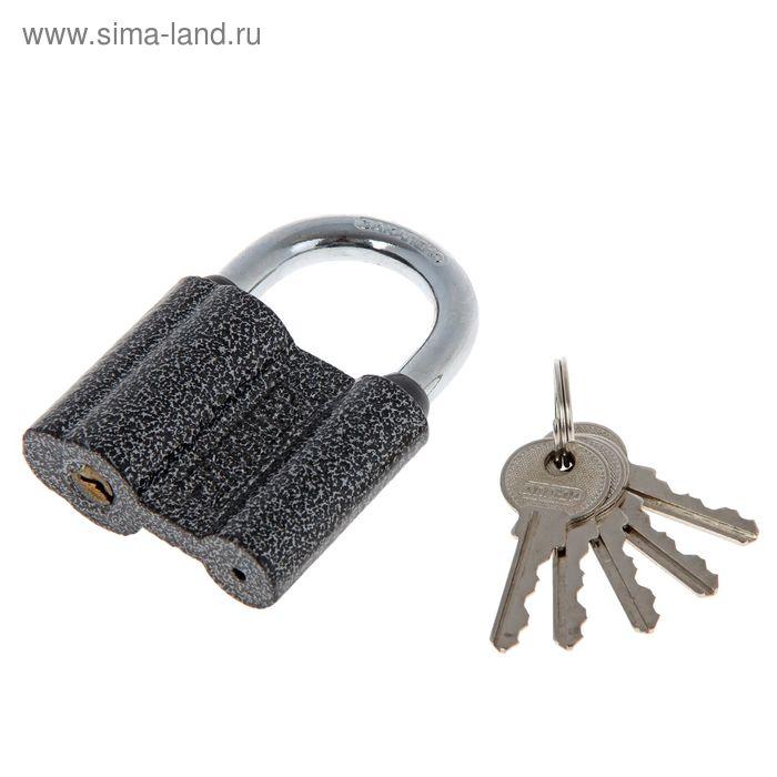 "Замок навесной ""АЛЛЮР"" ВС1Ч-460, дужка d=9 мм, 5 ключей"