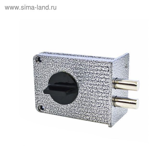 "Замок накладной ""АЛЛЮР"" ЗН1А-1М, 110х72х18.5 мм, 5 ключей"