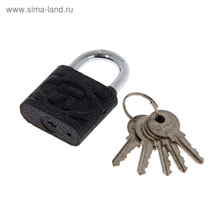 "Замок навесной ""АЛЛЮР"" ВС1Ч-4504, дужка d=6 мм, 5 ключей"