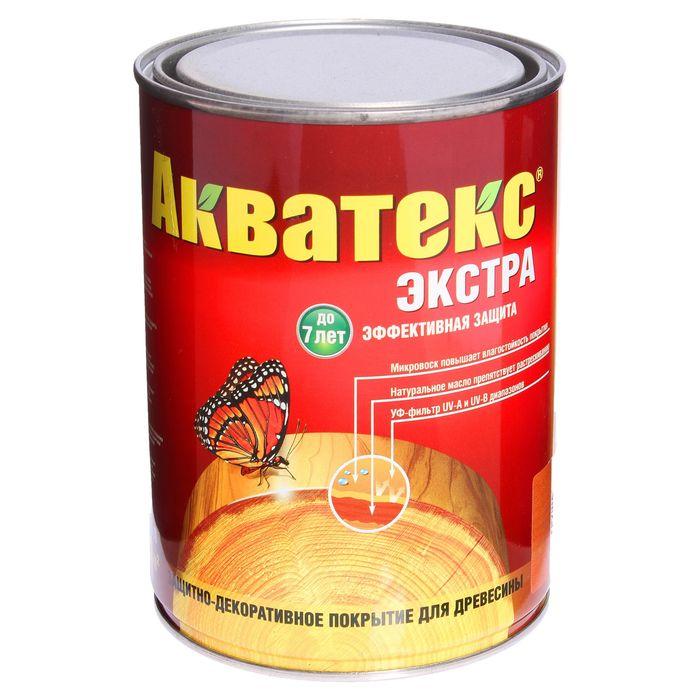 Защитно-декоративное покрытие для древесины, груша, 0,8 л