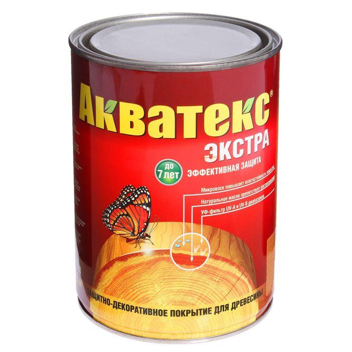 Защитное текстурное покрытие для древесины, тик, 0,8 л