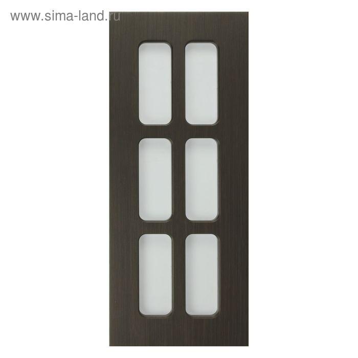 Фасад Модерн Венге темный 716*296 фасад витрина