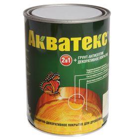 "Грунт-антисептик ""Акватекс"", бесцветный, 0,8 л"