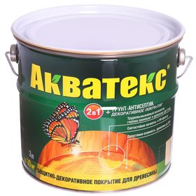 "Грунт-антисептик ""Акватекс"", бесцветный, 3 л"