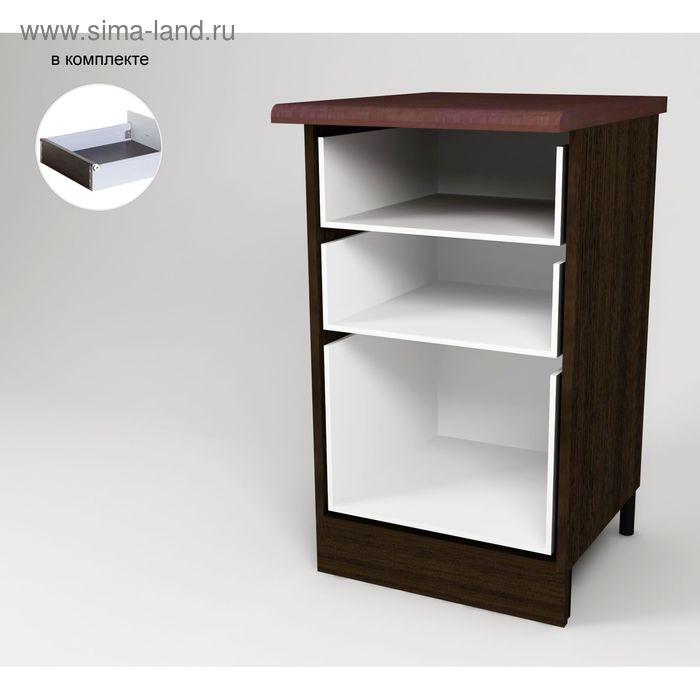 Корпус напольный 3 ящика 850*450*500 Венге