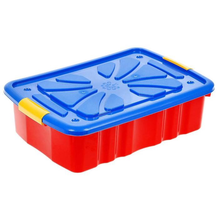 Ящик для игрушек, цвета МИКС