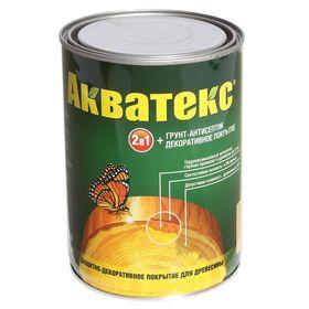 """Грунт-антисептик """"Акватекс"""", сосна, 0,8 л"""