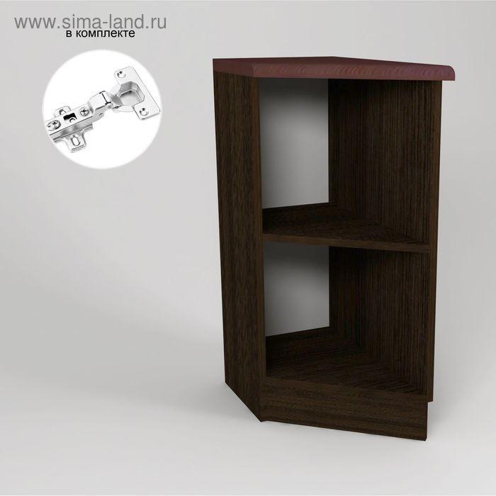 Корпус напольный скошенный левый 850*550*300 Венге