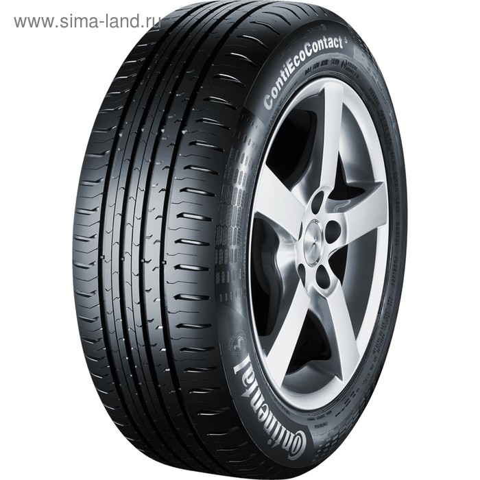 Летняя шина Continental ContiEcoContact 5 175/70 R14 88T
