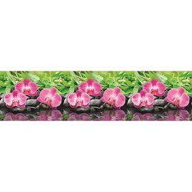 Фартук кухонный ПВХ Орхидеи 3000х600х1,5