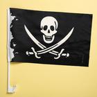 """Флаг автомобильный """"Пират"""", 2 шт."""