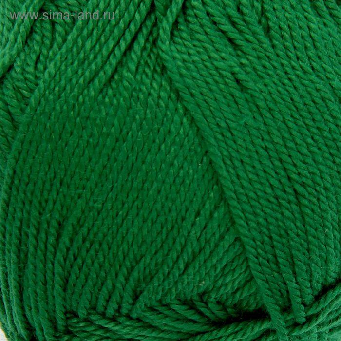"Пряжа ""Duet (Bamboo& Cotton)"" 60% бамбук, 40% хлопок 225м/50гр (210 зеленый)"