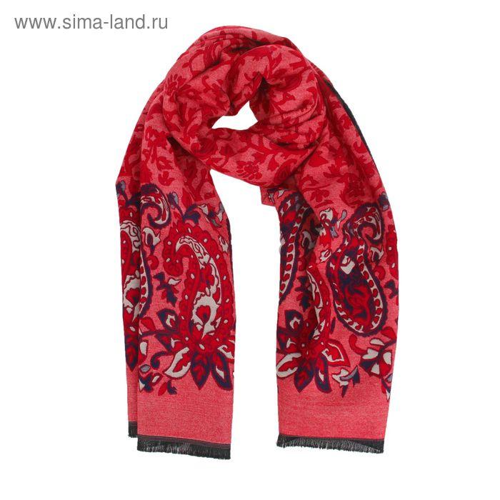 Палантин из жаккардовой плотной мягкой ткани 65*190 Р3114 цвет 1