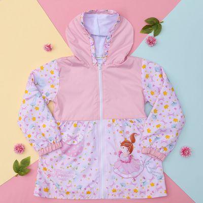 """Куртка для девочки Collorista """"Принцесса"""", рост 98-104 см (30), 3-4 года + рюкзак"""