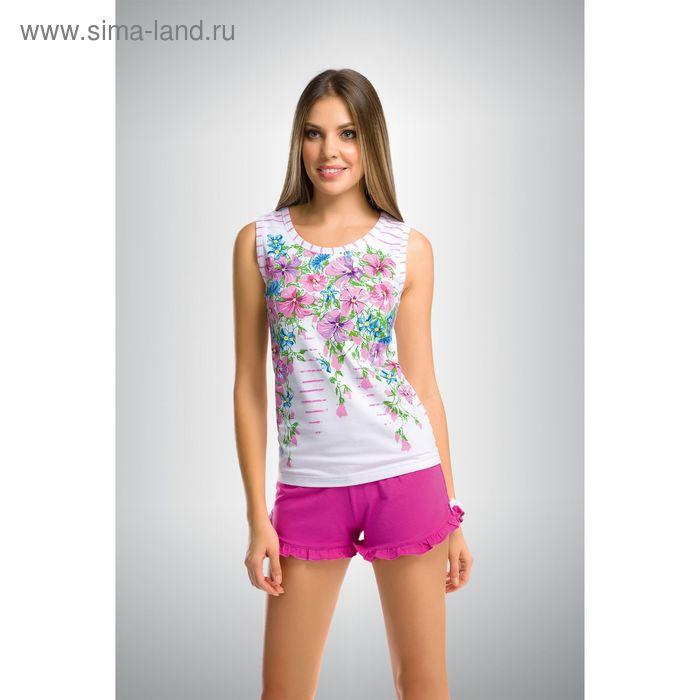 Пижама женская, цвет розовый, размер 44 (S) (арт. PVH290)