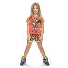 Комплект для девочки, рост 104-110 см, возраст 4 года, цвет коралловый