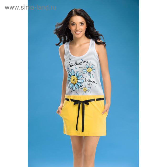 Платье женское, цвет жёлтый, размер 42 (XS) (арт. PDV287)