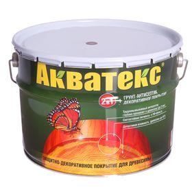 """Грунт-антисептик """"Акватекс"""", орех, 10 л"""