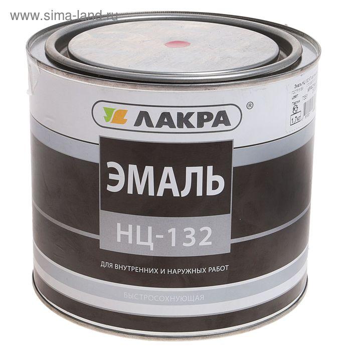 Эмаль НЦ-132  красный 1,7 кг