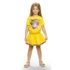 Платье для девочки, рост 98-104 см, возраст 3 года, цвет жёлтый